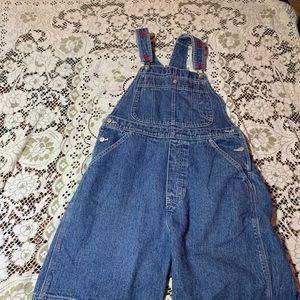COPY - Tommy Hilfiger overalls size large shorts!